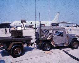 military jeep side view usaf mrc 108 communications jeep