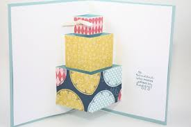 pop out birthday cards 15 st sets today make a cake pop up birthday card