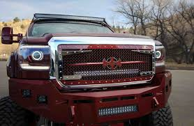 lifted gmc red gmc denali lifted red cars