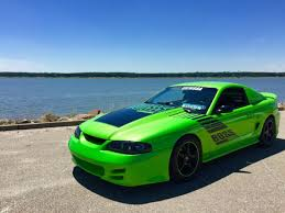 1994 ford mustang cobra specs ford mustang coupe 1994 green for sale 1falp42t3rf178329 1994