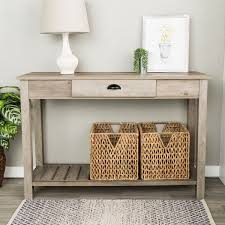 48 inch console table 48 inch country style entry console table free shipping today