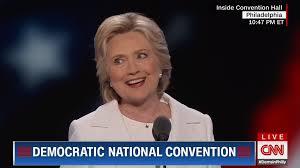 watch clinton u0027s history making speech at democratic
