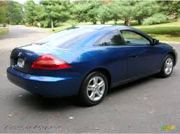 2004 Honda Accord Coupe Lx 2004 Honda Accord Lx Coupe In Sapphire Blue Pearl Photo 5