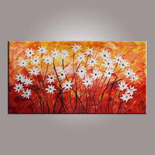 canvas wall art flower art abstract art painting acrylic canvas wall art flower art abstract art painting acrylic painting bedroom wall