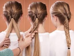 Hochsteckfrisurenen Selber Machen Lange Haare by 25 Best Ideas About Haare Selber Flechten On