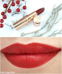 holiday makeup look charlotte tilbury quick n u0027 easy red carpet