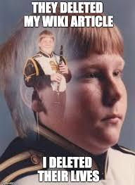 Wiki Meme - ptsd clarinet boy meme imgflip
