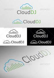 cloud dj logo dj logo logo templates and logos