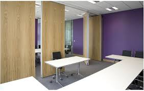 aluminium track office folding partition walls commercial