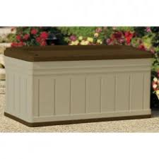 Patio Cushion Storage Bin by Extra Large Deck Boxes Deck Boxes Patio U0026 Yard Suncast