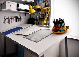 Desk For Drawing Make A Diy Drafting Table From An Ikea Desktop Ikea Hackers