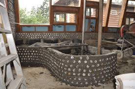Earthship Floor Plan by Laying Out Grey Water Planters And Plumbing For The Earthship