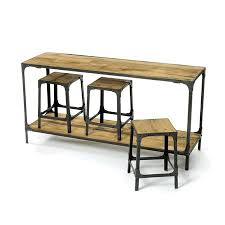 Sofa Table With Stools Best 25 Bar Ideas On Pinterest Table For Brilliant