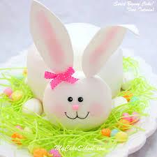 cute bunny cake video tutorial my cake