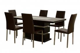 6 chair dining table neat of dining table set and glass dining