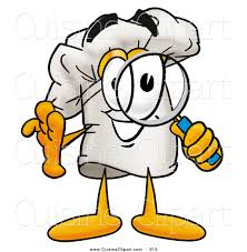 clipart cuisine cuisine clipart of a chefs hat mascot character looking