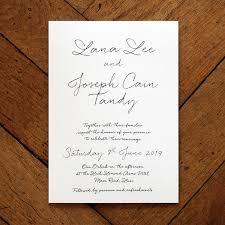 love letter wedding invitation feel good wedding invitations