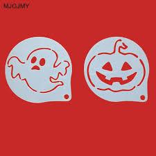 halloween pumpkins cartoons online get cheap halloween coffee stencils aliexpress com