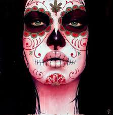 i find sugar skull eerily beautiful imgur