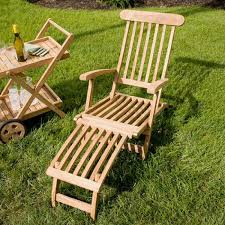 Wooden Outdoor Chaise Lounge Chairs Patio Furniture Reclining Patio Chaise Loungec2a0 Outsunny Lounge