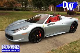 ferrari custom interior john wall u2014 dreamworks motorsports