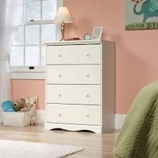 Walmart Filing Cabinets Wood by Sauder Pogo 4 Drawer Chest Soft White Walmart Com