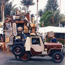 Colombias Beloved Jeeps Loaded With Everything But The Kitchen - Everything and the kitchen sink