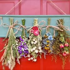 Dried Flower Arrangements Dried Flower Arrangement Dried Floral From Cloverhollowdesigns