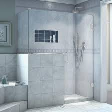 dreamline unidoor plus 34 3 8 in x 45 in x 72 in hinged shower