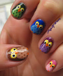 owl toe nail designs owl nail art designs ideas trends stickers