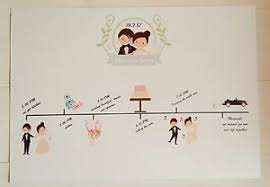 wedding itinerary wedding day timeline order of service itinerary sign wedding