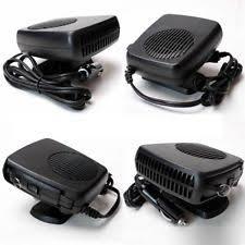 The Car Interior Preheater 12v Car Van Dashboard Interior Heater Fan Defroster Demister