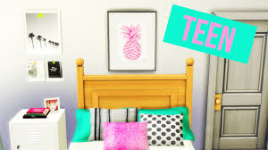 Teen Room by The Sims 4 2016 Teen Bedroom 1 Youtube