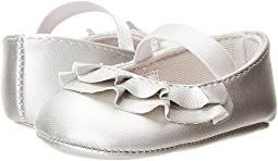 crib shoes silver shipped free at zappos