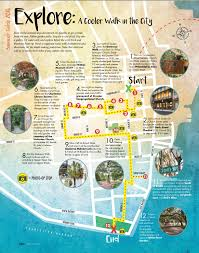 Charleston Map A Cooler Walk In The City Map Charleston Sc Cities To Visit