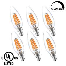 60 watt candelabra bulbs bioluz led candelabra bulbs dimmable