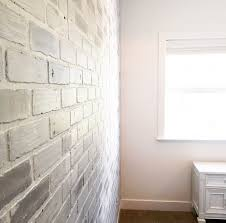 accent walls brick wallpaper and even adhesives american