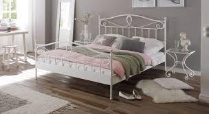 white bedroom metal bed and nightstand ideas decor crave white bedroom metal bed and nightstand ideas
