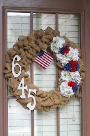 4th of july wreaths diy 4th of july burlap wreath domestic