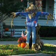 Fall Hay Decorations - creative ideas for fall decorations the gardening cook