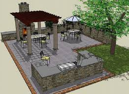 outside kitchen ideas outdoor kitchen blueprints garden design