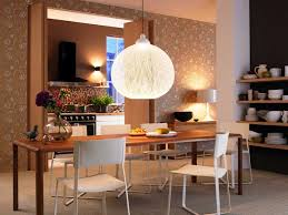 dining room astounding white globe shape pendant lighting over