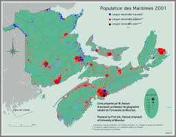Map Of Quebec New Brunswick Quebec Culture Blog