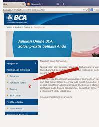 buat rekening tahapan bca cara membuka rekening bca secara online dilengkapi gambar