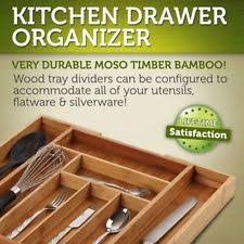 Lipper International Bamboo Kitchen Drawer Dividers by Kitchenedge Bamboo Kitchen Drawer Organizer For Silverware And