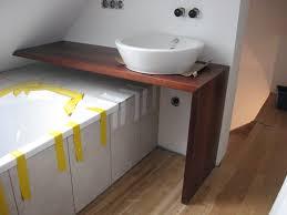 Bad Waschtisch Badmöbel Bad Waschtisch über Der Badewanne Akazie Massivtisch