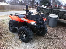 installed my snorkel honda atv forum