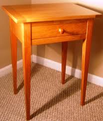 shaker style side table custom bedroom furniture by jim petelin of plane answers in stark