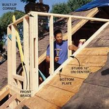 Flashing A Dormer How To Frame A Gabled Dormer Spaces Construction And Carpentry