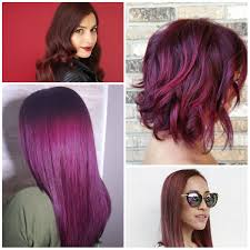 gallery red violet hair dye women black hairstyle pics